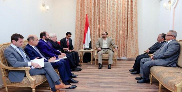 المشاط خطاب به گریفیتس: ادامه محاصره به صلح یمن کمکی نمی کند