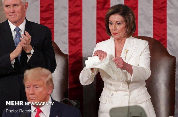 فحاشی ترامپ به رئیس مجلس نمایندگان آمریکا