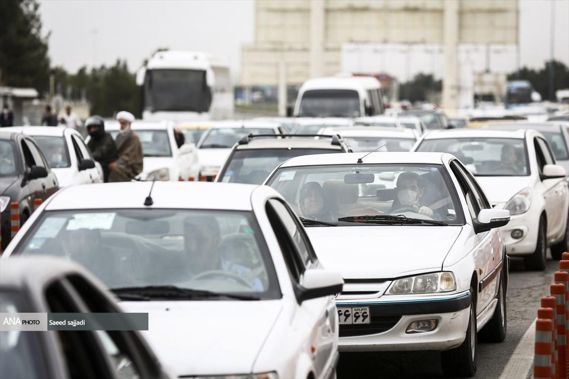 آخرین شرایط ترافیکی جاده های کشور، پنجشنبه چهاردهم فروردین